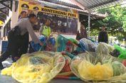 Polisi Trenggalek Sita 45 Balon Udara