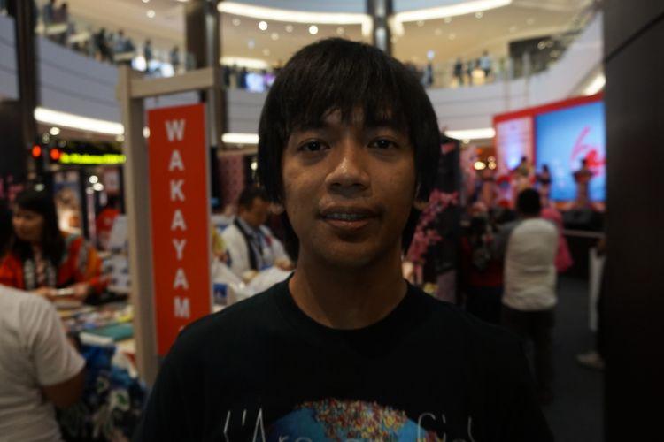 Artis musik Rian DMASIV saat ditemui di kawasan BSD, Tangerang Selatan, Banten, Minggu (16/9/2018).
