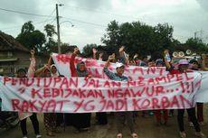 Pembangunan Jalan Tol di Kendal Diprotes, Warga Tuntut Jalan Utama Dibuka