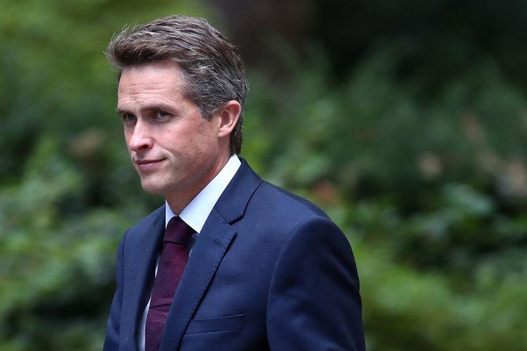 Menteri Pertahanan Inggris, Gavin Williamson.