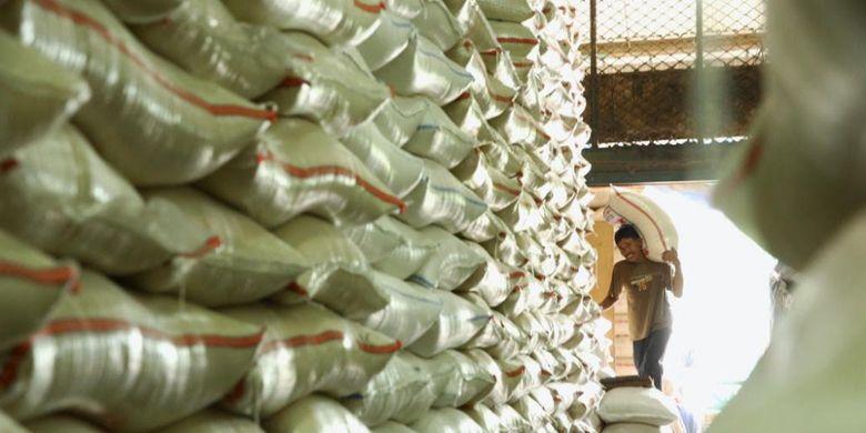 Stok beras nasional aman dan harganya relatif stabil