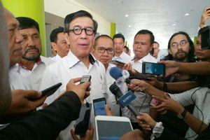 Tindakan Menteri Yasonna Tak Lapor Presiden soal UU MD3 Dianggap Fatal