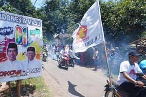 Komentar Sandiaga soal Spanduk Selamat Datang dari Pendukung Jokowi