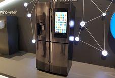 Kulkas Pintar Terbaru Samsung Bisa Diperintah dengan Suara