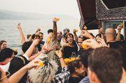 Kontoversi Acara Floating Party, Joget dan Minum Bir di Atas Danau Toba...