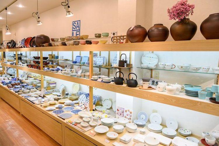 Jajaran koleksi dari produk berharga tinggi hingga yang terjangkau