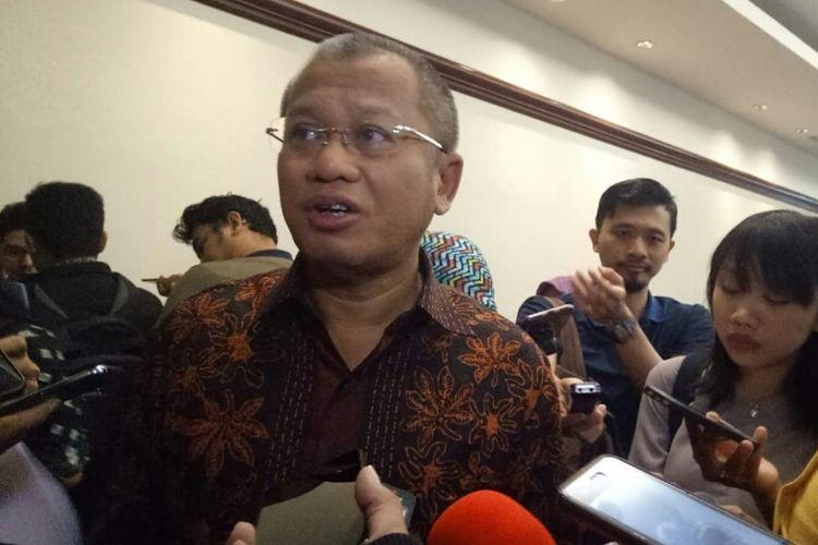 Direktur Utama PTBA Arviyan Arifin di Jakarta, Senin (23/7/2018).