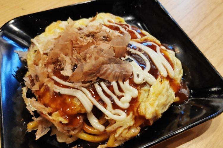 Okonomiyaki di Shabu Jin.