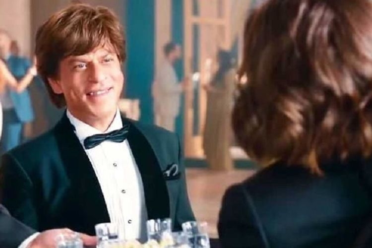 Salah satu cuplikan adegan film Zero yang dibintangi Shah Rukh Khan.