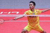 BWF World Tour Finals 2018, Langkah Anthony Ginting Terhenti