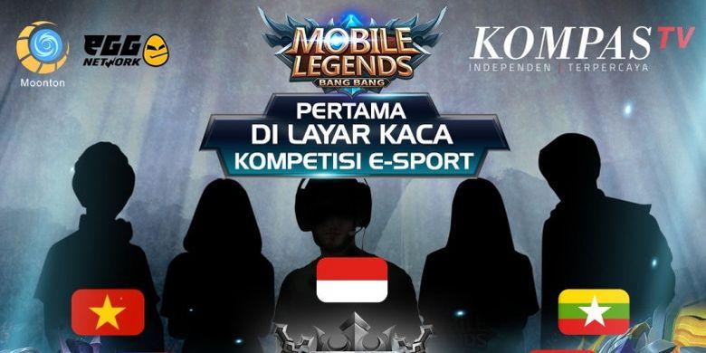 Kompas TV akan menyiarkan langsung turnamen Mobile Legends Southeast Asia Cup 2018 pada Minggu (29/7/2018).