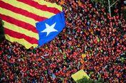 Hari Nasional Catalonia Diwarnai Unjuk Rasa Tuntut Kemerdekaan