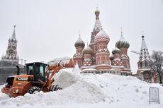 Hujan Salju Terlebat dalam 60 Tahun di Moskow Tewaskan 1 Orang