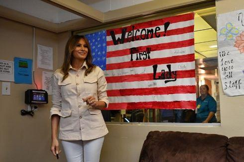 Melania Trump Ingin Bantu Migran Anak Bersatu dengan Orangtua