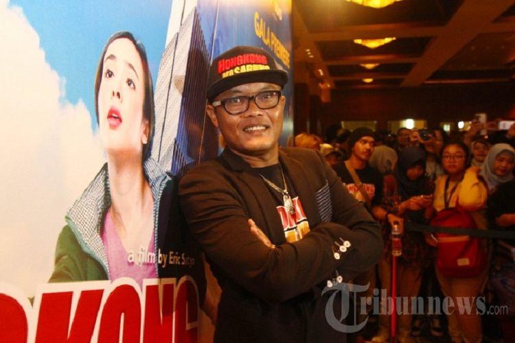 Komedian dan artis peran Sule ditemui usai acara press screening film Hongkong Kasarung, di Jakarta, Senin (12/3/2018). Sule berperan sebagai pemuda desa yang mencari peruntungan di Hongkong, film komedi ini ditayangkan pada 15 Maret 2018.