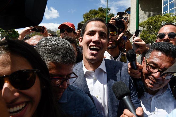 Pemimpin oposisi Venezuela, Juan Guaido.