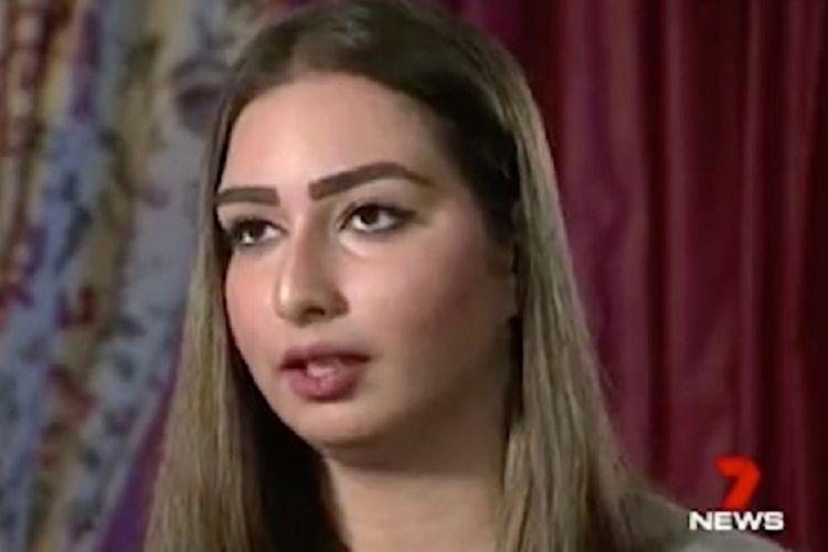 Tasneem Fakhoury, perempuan asal Australia yang mengaku sebagai korban pernikahan paksa di Lebanon.