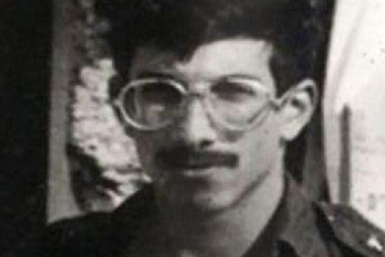Sersan Satu Zachary Baumel. Tentara Israel yang dilaporkan menghilang saat Perang Lebanon I 1982.