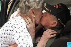 Veteran Perang Dunia II Ini Bertemu Wanita yang Dicintainya 75 Tahun Kemudian