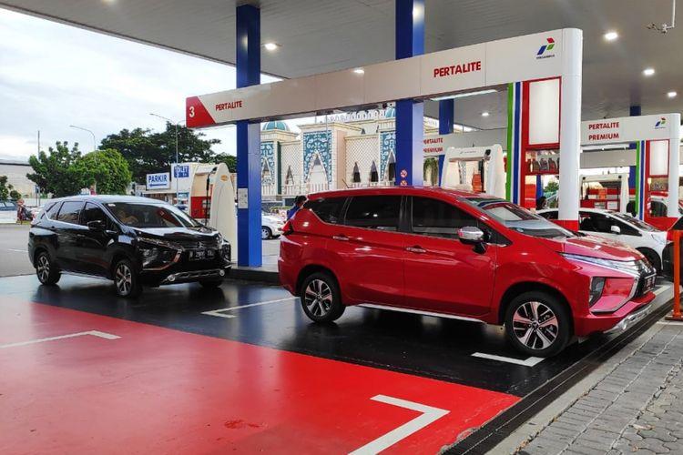 Komparasi BBM rute Trans Jawa menggunakan 2 unit Mitsubishi Xpander AT