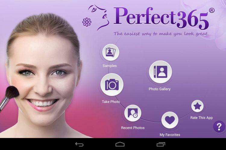 Aplikasi selfie Perfect365