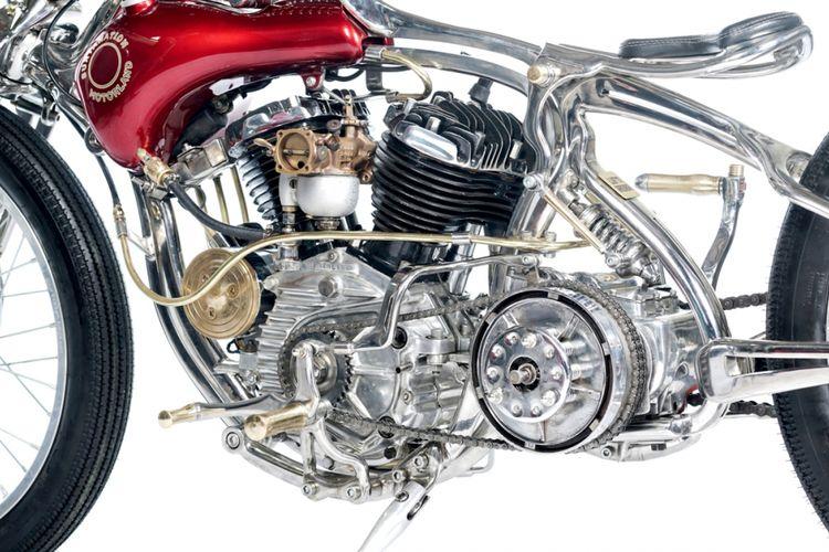 Iconic Bike Suryanation Motorland H-D WL 1947