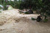 Rumah-rumah Hanyut Akibat Banjir di Aceh Utara