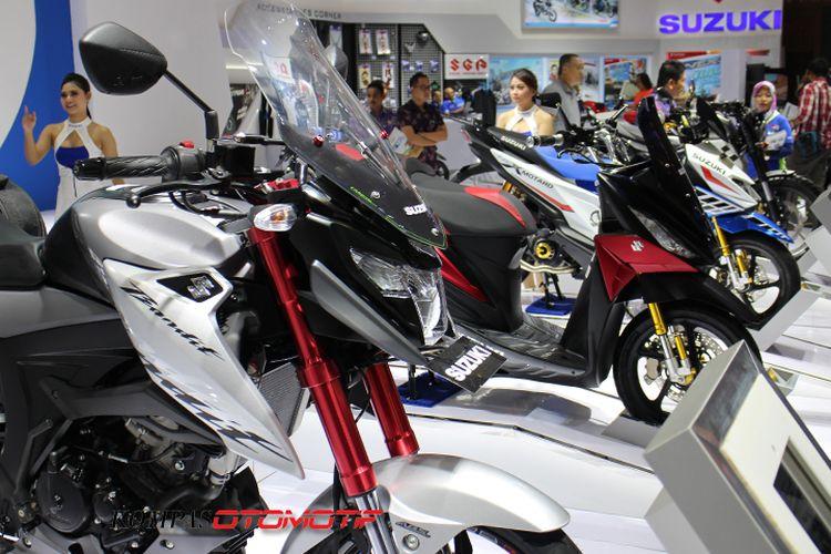 Inspirasi modifikasi motor-motor Suzuki di IMOS 2018