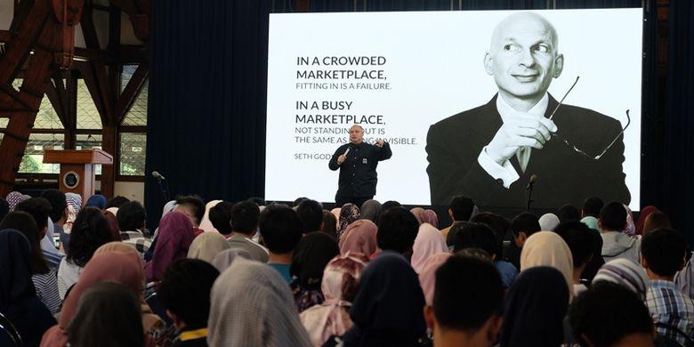 Institut Teknologi Bandung (ITB) bekerja sama Martha Tilaar Group menggelar seminar bertema ?KreatifBoom 2018? di Aula Barat ITB (30/8/2018).