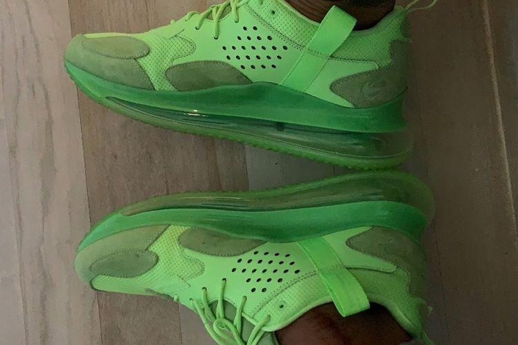 Sneakers terbaru kolaborasi Nike dengan Odel Beckham Jr
