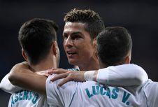 Sejak ke Liga Spanyol, Ronaldo Selalu Menembus 20 Gol