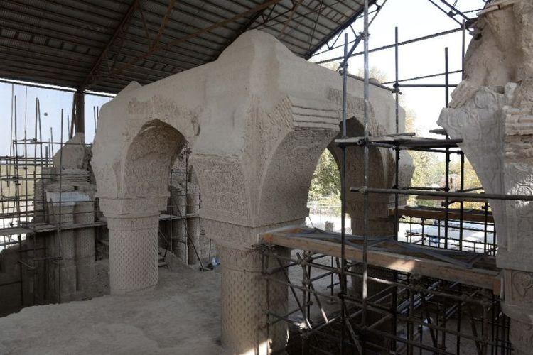 Masjid Kubah 9 di Afghanistan adalah masjid abad ke-8 yang masih menyimpan banyak rahasia