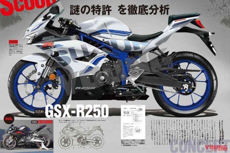 Suzuki GSX-R 250 Young Machine