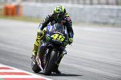 Rossi Tes Rem Baru Yamaha di Catalunya