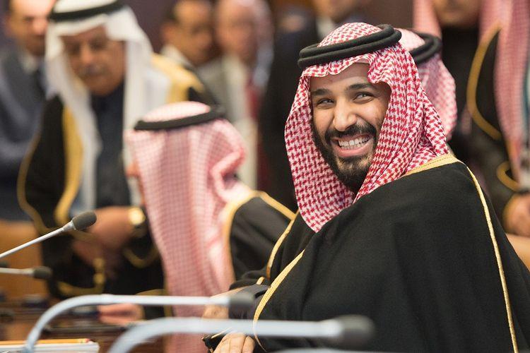 Putra mahkota Arab Saudi, Pangeran Mohammed bin Salman.