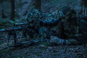 'Sniper' SAS Tembak Komandan ISIS di Malam Hari dari Jarak 1,5 Km