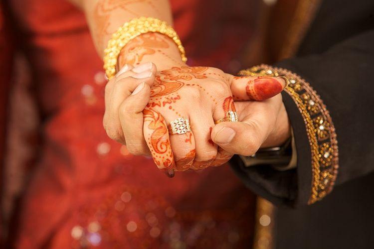 Pernikahan India.