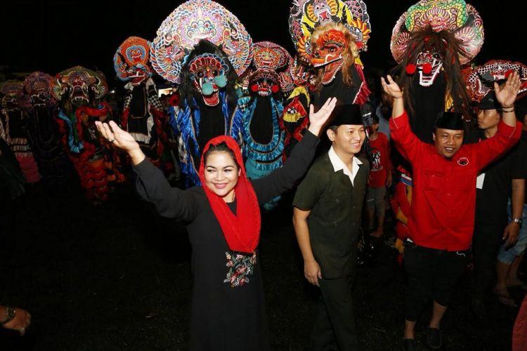 Puti Soekarno Diperkenalkan ke Warga Trenggalek