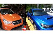 Lelang Online 4 Mobil Subaru, Uang Jaminan Mulai Rp 45 Juta-an