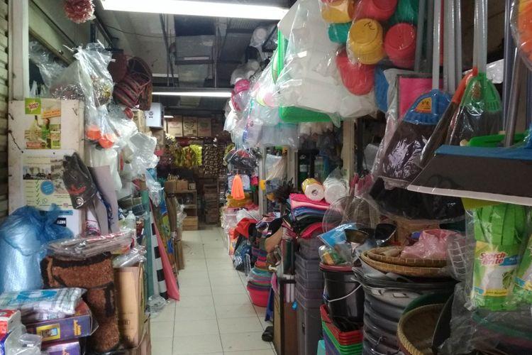 Kondisi Pasar Pondok Indah, Jakarta Selatam Setelah Mendapatkan Plakat Adipura,
