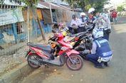 Parkir Liar di Jalan Raya Pasar Minggu, Puluhan Motor Terkena Operasi Cabut Pentil