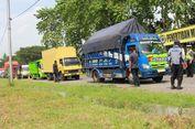 100 Truk Pelanggar Aturan di Tol Surabaya-Gempol Ditindak
