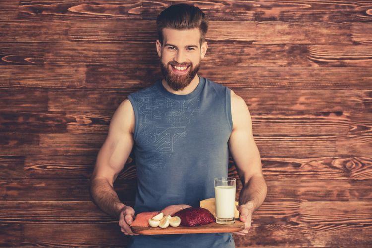 Ilustrasi Makanan sehat