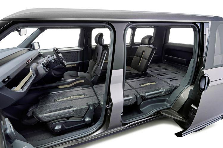 Toyota Tj Cruiser punya model pintu geser dan lantai rata