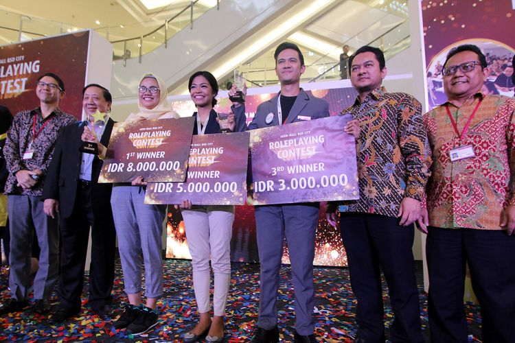 Pemenang Roleplay Contest Aeon Mall 2018