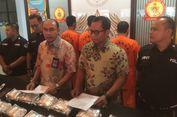 Polri Ungkap Peredaran Sabu 22 Kg dari Malaysia