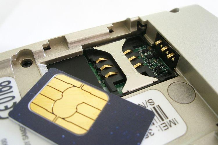 Ilustrasi IMEI dan kartu SIM