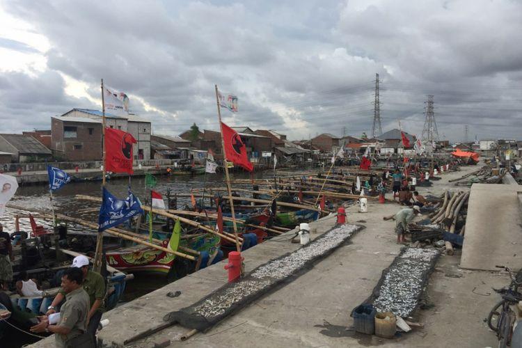 Wilayah Tambak Lorok di Kota Semarang