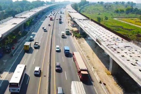 Jalan Tol Layang Jakarta-Cikampek Ditargetkan Rampung Akhir September 2019