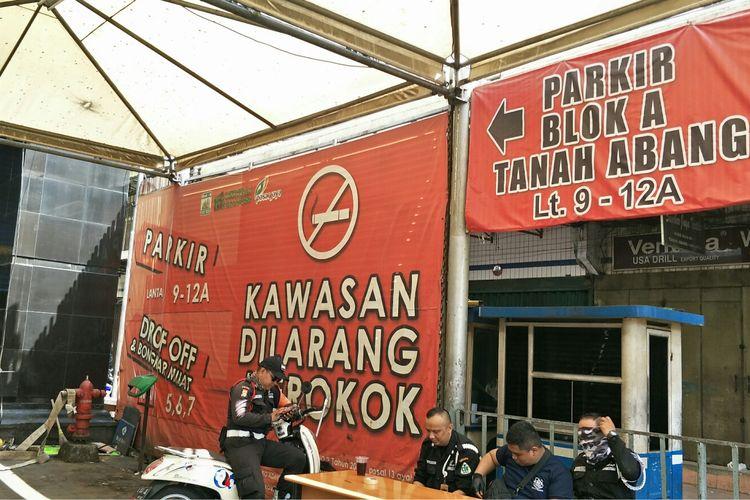 Pasar Tanah Abang, Jakarta Pusat, Kamis (23/5/2019).